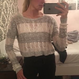 Abercrombie light knit sweater